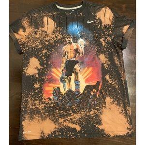 Manny Pacquiao Bleach Distressed Shirt Women's XL